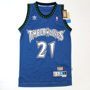 Adidas Timberwolves NBA Jersey Hardwood Garnett 21